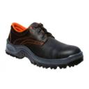 Zapato de Seguridad, Corte Bajo, en Piel Napa Negra